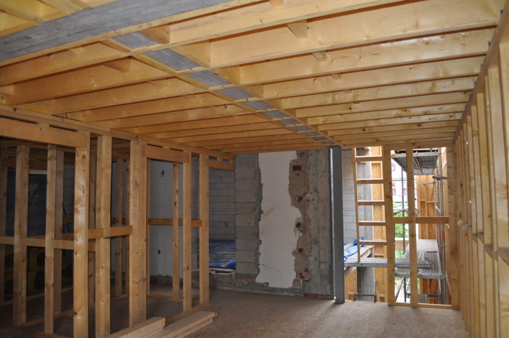 Extension marotel le perreux sur marne dep 94 maison for Extension maison bois 94